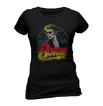 David Bowie - Smoking (T-SHIRT Donna )