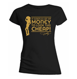 Dolly Parton - Lot Of Money Black (T-SHIRT Donna )