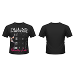 Falling In Reverse - Fashionably Late (T-SHIRT Donna )