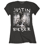 T-shirt Justin Bieber - Purpose Logo Black