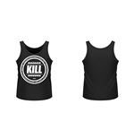Kill Brand - Swag Logo Circle (BLACK) (canotta Unisex )
