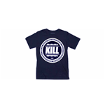 Kill Brand - Swag Logo Circle (BLUE) (T-SHIRT Unisex )