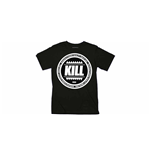 Kill Brand - Swag Logo Circle (BLACK) (T-SHIRT Unisex )