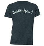 Motorhead - Distressed Logo Grey (unisex )