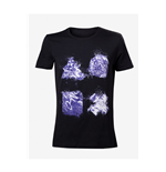 Playstation - Grafitti Buttons Artwork Black (unisex )
