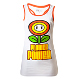 Nintendo - White Flower Power (top Donna )