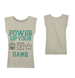 Nintendo - Power Up Your Game (canotta Unisex )