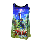 Nintendo - Zelda Female Sublimation (top Donna )