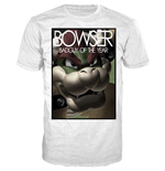 Nintendo - Bowser Badguy Of The Year White (unisex )