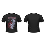 New Years Day - Long Hair Skull (T-SHIRT Unisex )