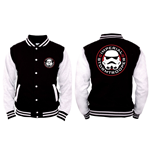 Star Wars - Imperial Stormtrooper - Nero / Bianco (college Jacket )
