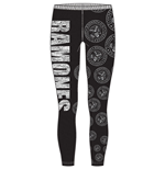 Ramones - Presidential Seal Black (leggings  / L)