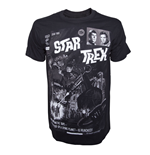 Star Trek - Black Comic Book Cover (T-SHIRT Unisex )