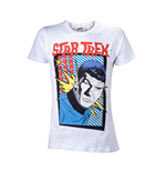 Star Trek - White Cartoon Mr Spock (T-SHIRT Unisex )