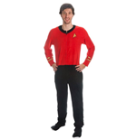 Star Trek - Red Union Suit (pantalone Pigiama )