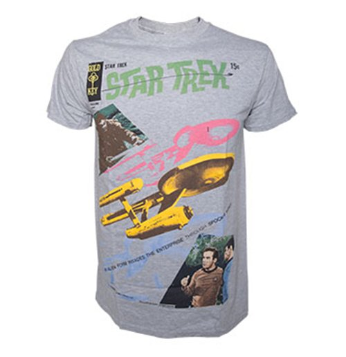Star Trek - Grey Melange Alien Invading (unisex )