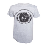 Star Trek - Grey Melange Federation Shirt (T-SHIRT Unisex )