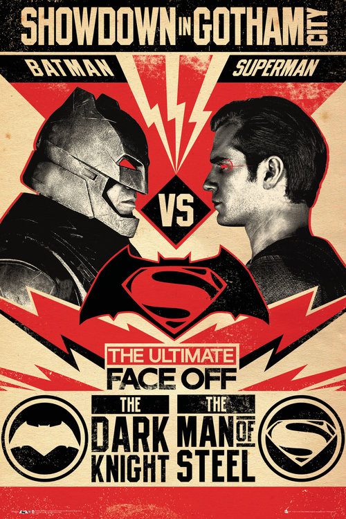 Poster Batman vs Superman 208291