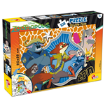 Zootropolis - Puzzle Double-Face Plus 108 Pz