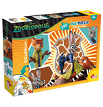 Zootropolis - Puzzle Double-Face Plus 250 Pz