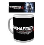 Uncharted 4 - Logo (Tazza)