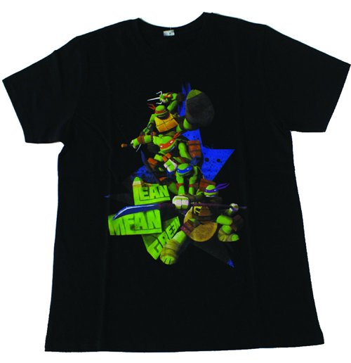 Teenage Mutant Ninja Turtles - Black All Characters (Bambino )