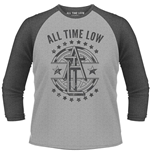 All Time Low - Emblem (T-SHIRT Unisex Manica 3/4 )