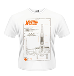 Star Wars - The Force Awakens - X-WING Maintenance Manual (T-SHIRT Unisex )