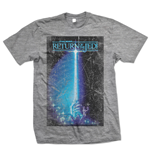 Star Wars - Return Of The Jedi Sabre Grigio (T-SHIRT Unisex )