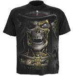 Steam Punk Reaper - T-SHIRT Black (T-SHIRT Unisex )