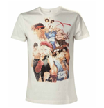 Streetfighter - White Characters (T-SHIRT Unisex )