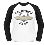 Star Trek - To Boldly Go (WHITE) (felpa Unisex )