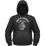 Sons Of Anarchy - Classic (felpa Con Cappuccio Unisex )