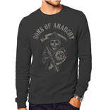 Sons Of Anarchy - Reaper Logo (felpa Unisex )