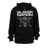 Slayer - Slayer Nation (felpa Con Cappuccio Unisex )
