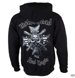 Motorhead - Bad Magic Black (felpa Con Cappuccio Unisex )