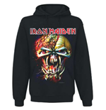 Iron Maiden - Final Frontier Big Head (felpa Con Cappuccio Unisex )