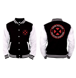 X-MEN - Xavier Institute - Nero / Bianco (college Jacket )
