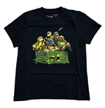 Teenage Mutant Ninja Turtles - Blue Mutants RULE! (T-SHIRT Bambino )
