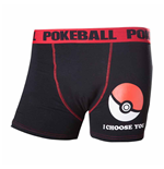 Pokemon - Poke Ball (boxer Uomo )