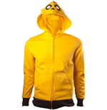Adventure Time - Jake (felpa Con Cappuccio Unisex )