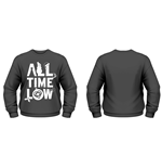 All Time Low - Christmas Logo (felpa Unisex )