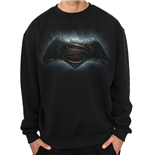 Batman Vs Superman - Logo (felpa Unisex )
