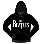 Beatles (THE) - Drop T Logo (felpa Con Cappuccio Unisex )