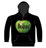 Beatles (THE) - Apple Black (felpa Con Cappuccio Unisex )