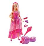 Mattel DKB62 - Barbie Fairytale - Barbie Chioma Da Favola