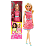 Mattel DGX62 - Barbie Fashion And Beauty - Barbie Regala Accessorio Vestito Rosa