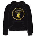 5 Seconds Of Summer - Derping Stamp (felpa Con Cappuccio Unisex )