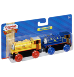 Mattel BDG18 - Thomas And Friends - Wooden Railway - 2-Pack Bill E Ben