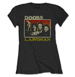 Doors (THE) - La Woman Blk (T-SHIRT Donna )